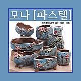 모나[파스텔] 다육이화분 인테리어화분 수제화분 행복한꽃그릇 행복상회|Handmade Flower pot