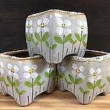 수입수제화분 3종세트-2829|Handmade Flower pot