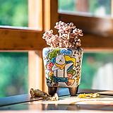W207곰돌군 시즌오브시즌 다육이화분 인테리어화분 수제화분 행복상회 행복한꽃그릇|