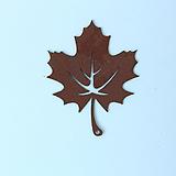 양버즘 플라타너스 나뭇잎 행잉 철제장식 