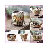 사이즈업꼬망세Ⅱ/하양이다육화분 수제화분 인테리어화분 다육이화분 행복상회 행복한꽃그릇 DD꼬망|Handmade Flower pot