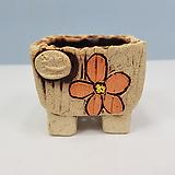 꽃이다공방 명품 수제화분 콩분 #4316|Handmade Flower pot