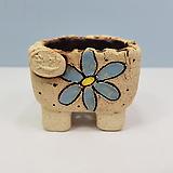 꽃이다공방 명품 수제화분 콩분 #4331|Handmade Flower pot