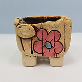 꽃이다공방 명품 수제화분 콩분 #4338|Handmade Flower pot