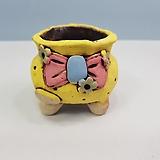 꽃이다공방 명품 수제화분 콩분 #4407|Handmade Flower pot