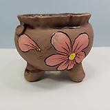 꽃이다공방 명품 수제화분 꽃그림 #4630|Handmade Flower pot