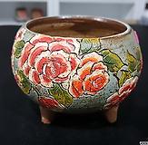 피어나手工花盆12-55(높이7.5/넓이7.5)|
