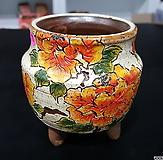피어나手工花盆12-70(높이8.5/넓이6.5)|