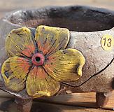 큰꽃코사지手工花盆13|