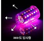 다육이 월동준비/28W 방사형 기둥형 360도 식물생장 LED등/인공태양용 SMD소자|
