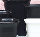 사각 플라스틱 화분 <슬릿분> S,M,L,XL (20+1)|