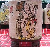 민들레수제화분764|Handmade Flower pot