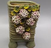 깨비 수제화분 12-33|Handmade Flower pot