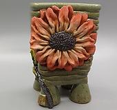 깨비 수제화분 12-34|Handmade Flower pot