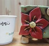 꽃이다공방手工花盆#65|Handmade Flower pot