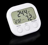 온도습도관리 디지털 온습도계 표준형♥온도계 습도계 시계 탁상시계 다육|