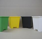 사각플분 2호 검정-백색-노랑-녹색|