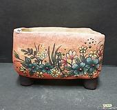 꽃구름수제화분|Handmade Flower pot