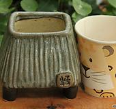 봄날 수제화분 사각유약분 Handmade Flower pot
