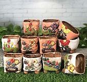 수제화분 소꿉놀이(12타입)|Handmade Flower pot