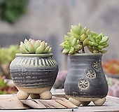 수제화분 가마솥|Handmade Flower pot