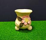 꽃이다 공방 수제화분 꽃한송이 #1908|Handmade Flower pot