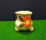 꽃이다 공방 수제화분 꽃한송이 #1909|Handmade Flower pot