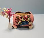 꽃이다공방 수제화분 꽃바구니 #2133 Handmade Flower pot