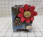 꽃이다공방 수제화분 대형꽃 #2392|Handmade Flower pot