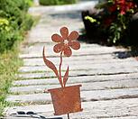 화분꽃-정원철제장식 예쁜정원만들기 장식 마당 잔디 화단 꾸미기 빈티지소품 가드닝|