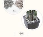 라돈검사완료 맥반석 조경석 장식석 화분장식석 마사 배수잘되는흙 분갈이흙