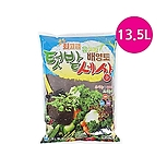 유기농배양토(텃밭세상) 13.5L/최고급배양토/흙/분변토/비료/퇴비/상토/분갈이흙/마사토/난석/휴가토/