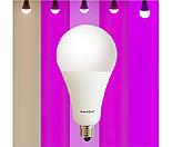 빛솔 식물 LED전구 7종 생장용 10W 15W