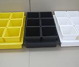 중형저면관수+사각플분2호세트 노랑-백색-검정