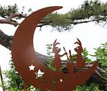 달토끼 - 정원장식 철제 마당 화단 꽃밭 연못 꾸미기 홈가드닝 인테리어소품