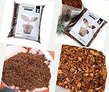 가벼운흙 코코피트 허스크칩 분갈이흙 흙 코코칩 코코넛바크 곤충바닥재 바크대용