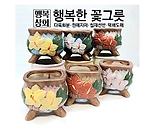 수제화분모모Ⅳ다육화분 인테리어화분 다육이화분 행복상회 행복한꽃그릇