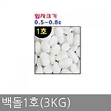 백돌1호(3kg)