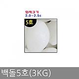 백돌5호(3kg)