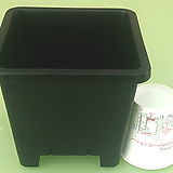 사각플분4호(플분15cm)플라스틱花盆사각포트파종분