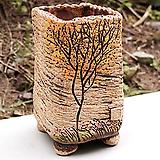 수제화분 소담사각(4color)