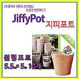 지피포트 10개 친환경 모종포트 지피원형포트