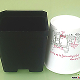 특가(최저가, 10+1), 직사각 플분 다 모여..플라스틱화분 사각포트 파종분