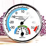 고급정밀온도습도계아날로그온습도계(온도계겸습도계)13cm