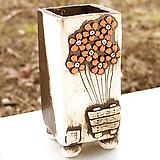 수제화분 사각꽃잔치(6color)