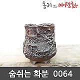 숨쉬는 수제화분 0064 Handmade Flower pot