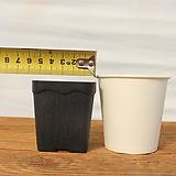 5.7cm 물결 플라스틱화분 1호(10+1/사각플분 파종분 플분)