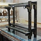 뉴원목보조선반(소품전용)/다육선반/원목선반/화분진열대/맘스공방