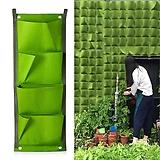 버티컬 화분 4포켓 그린컬러♥벽면을 푸르게 개성만점 공간연출♥그린 월♥벽걸이|
