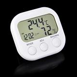 표준형 디지털 온습도계♥심플한 디자인♥온도습도관리 온도계 습도계♥시계 탁상시계 다육